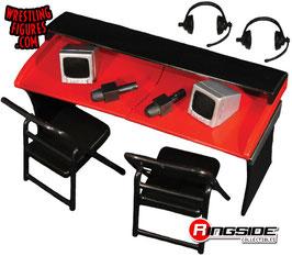 Kommentatoren Playset rot