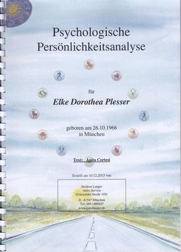 A01   Persönlichkeitsanalyse (Geburtshoroskop)