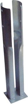 Pfostenschuh für Rundholz Ø120mm.