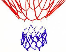 Basketballnetz aus Nylon.