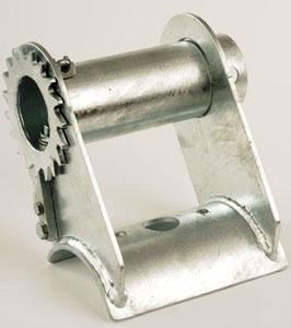 Stahlseilspanner für Rund- und Kantholz.