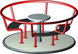 Sitzkarussell, Ø 1400mm.
