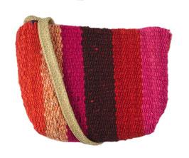 Crossbody tas roze/rood