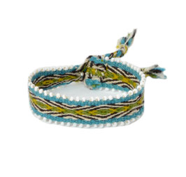 Armband blauw/groen
