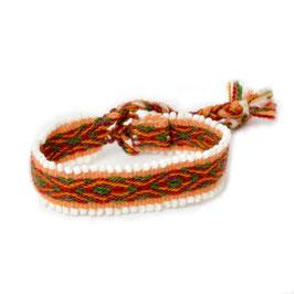 Armband oranje/groen