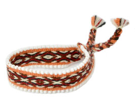 Armband oranje/rood