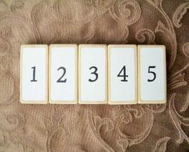 O.指番号積み木