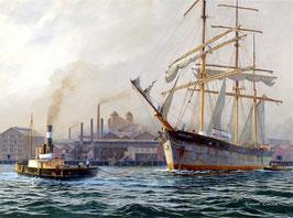 """Art work by Robert Carter OAM """"James Craig - The Final Voyage"""""""