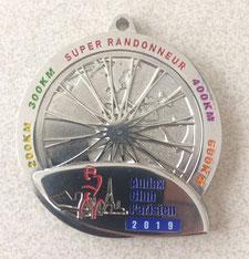 Super Randonneur Medaille