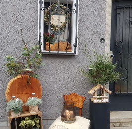 Vogelhaus aus Birke 1 Stück /ohne Dekoration!/