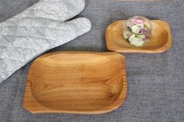 Holzteller 2-er Set