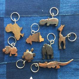 Schlüsselanhänger aus Ebenholz