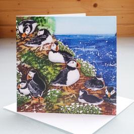 The Wick - Skomer Island Art Card