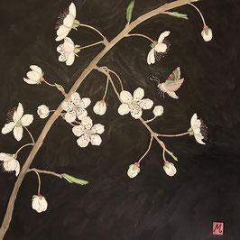 Blackthorn Blossom Print