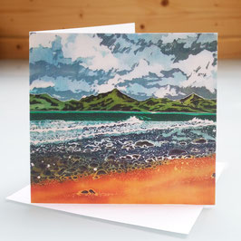 View From Shell Island Art Card
