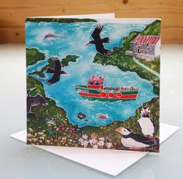 Pembrokeshire Art Card
