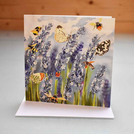 Lavender Meadow Greeting Card