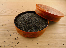 Sesamsaat, schwarz