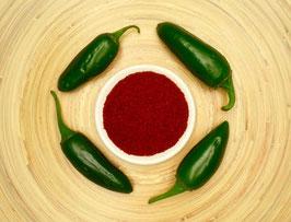Chili Jalapeno, gemahlen