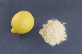 Zitronenschalen, gemahlen