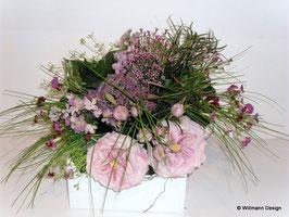 Blumenstrauß rosa Rosen