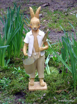 Gärtnerhase Mann