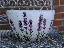Übertopf Lavendel oval (klein)