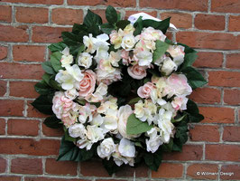 Kranz Hortensien rosa
