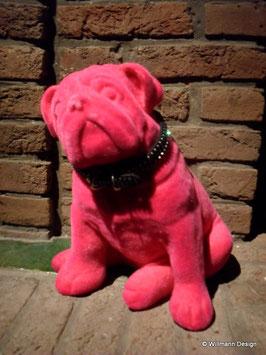 Spardose Mops pink
