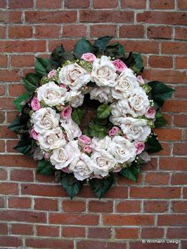 Rosenkranz gross rosa