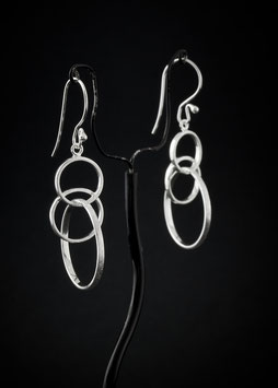 Ohrhänger 3 Ringe