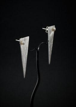 Ohrstecker Dreieck Perle