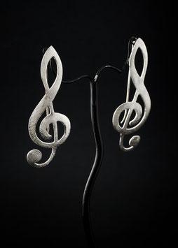 Ohrhänger Notenschlüssel