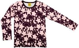 Shirt  'more than a FLING' Sterne Pflaume