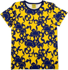 T-Shirt  'more than a FLING' Sterne Indigo