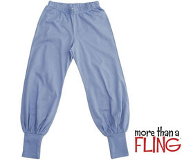 Baggy Pants  'more than a Fling' Blau