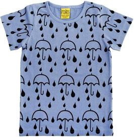 T-Shirt  'more than a FLING' Regenschirm Blau