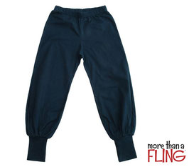 Baggy Pants  'more than a Fling' Dark Green