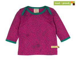 Shirt Druck 'Loud-Proud' Fuchsia