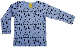 Shirt  'more than a FLING' Regenschirm Blau