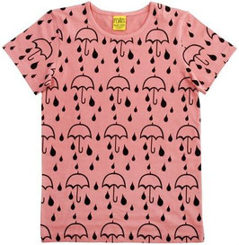 T-Shirt  'more than a FLING' Regenschirm Rosa