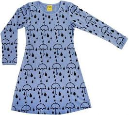 Langarm Kleid 'More than a FLING' Regenschirm Blau