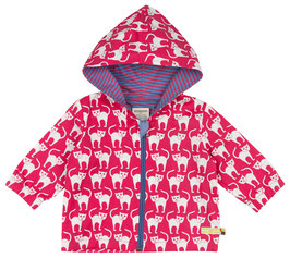 Outdoor Jacke Katze 'Loud+Proud' Purple
