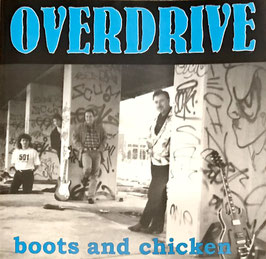 "CD ""boots and chicken"", OVERDRIVE (1998)"