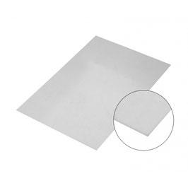 Stahlblech Silber