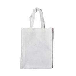 Werbe-Einkaufstasche  Weiss