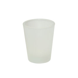 Schnapsglas, Satiniert 4 Stk.