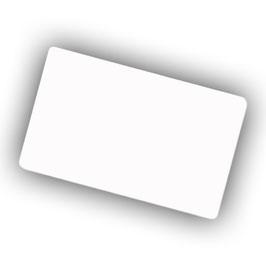 Visitenkartenbox  / 48 Aluminiumvisitenkarten 0,22 mm / Visitenkartenständer Gross Paket
