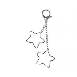 Schlüsselanhänger zwei Sterne