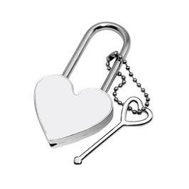 Herzschloss mit Schlüssel